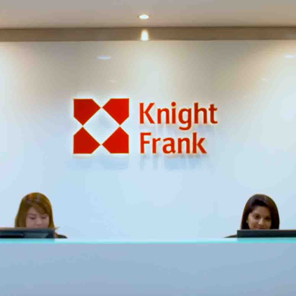 Knight Frank Malaysia's corporate video portraying their staff member explaining about their organization